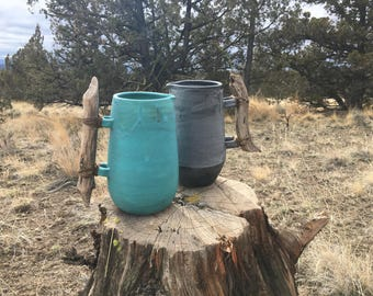 Farmhouse ceramic pitcher