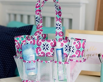 Mia Tile Shower Tote