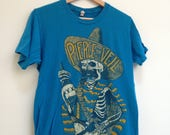 Pierce the Veil t shirt band tee Emo Goth rock music Hombre Skeleton mexican