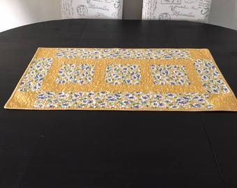 Quilted Table Runner /  Handmade  - C