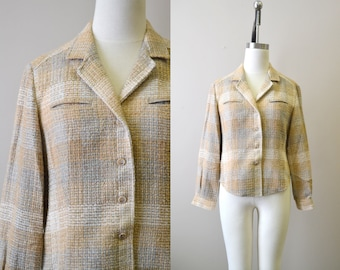 1970s The Villager Wool Shirt Jacket