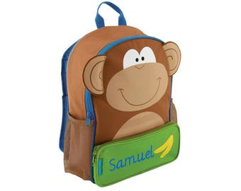 Personalized 3D Monkey Backpack by Stephen Joseph