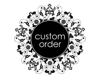 """Custom listing to add a 18""""x18"""" insert to an already placed order"""