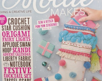 Mollie Makes, Handmade Crafts, Mollie Makes Issue 85, New Mollie Makes Magazine, Christmas Issue