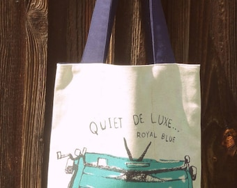 SK littlefactory embroidery typewriter Tote Bag