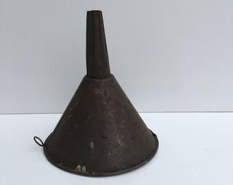 Old vintage funnel