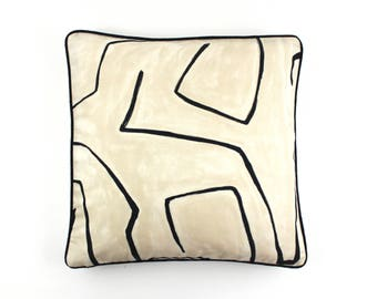 Kelly Wearstler Graffito Pillows (Both Sides-comes in 5 colors)