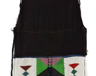 Zulu Apron Beadwork Panel South African Art 111112