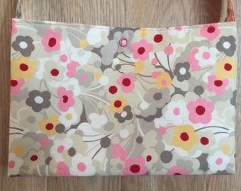 Floral Crossbody Purse (cotton fabric)