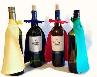 Wine Bottle Super Hero Capes-Red-Wine Bottle-Super Hero-Centerpiece-Shower-Birthday Party-Baby Reveal-Wedding-Housewarming-Wine Bottle Decor