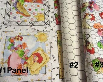 Loralie Harris, Loralie Designs, Chicken Chique Fabric