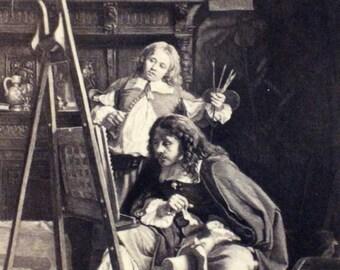 Goupil & Cie CDV Album 24 photographies Montmartre Paris datant des années 1800 de Antique Reproduction Art Images Rare Collection