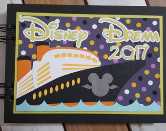Halloween Disney Cruise Autograph Book