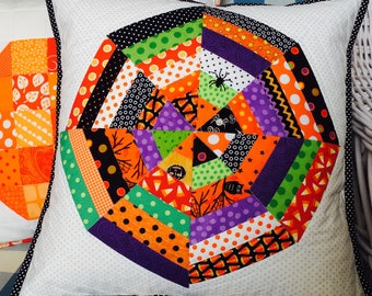 Halloween Pillow Cover - Fall Pillow Cover fits 16 inch pillow