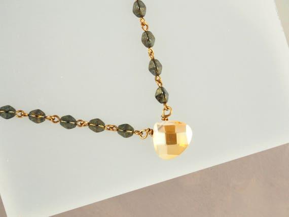 Sundance Style Gold & Bronze Layering Necklace