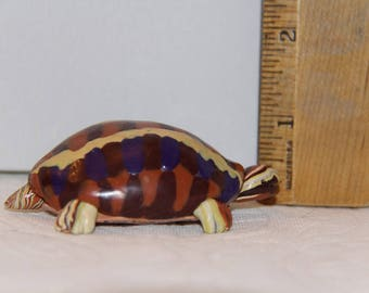 Handcrafted Colorful Turtle, 100% Handmade
