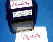 Teen Personalized Holiday Gift, Tween Self Inking Stamp, Trendy Name Stamp, Personalized Gift, Teen Girls Stocking Stuffer, Calligraphy