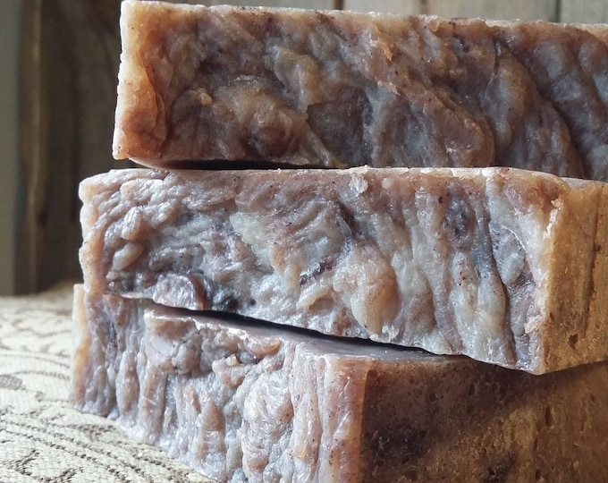 Mug of Mocha Soap (Coffee soap, Chocolate Soap, Vegetarian Soap, unscented)