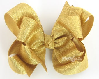 Hot Pink Hair Bow Choose Color Hair Bowsbaby Hair Clipsred