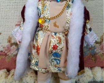 Peggy Nisbet Limited Costume Doll Made in England King Henry VIII