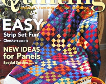 Fons and Porter's Love of Quilting Magazine, September/October 2007 Issue, Quilt Patterns