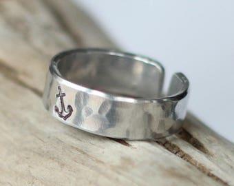 Custom listing for Gloria C- ring plus engraving