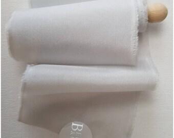 Cob Web Habotai Silk Ribbon