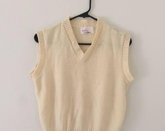 Vintage 90's Sweater Vest