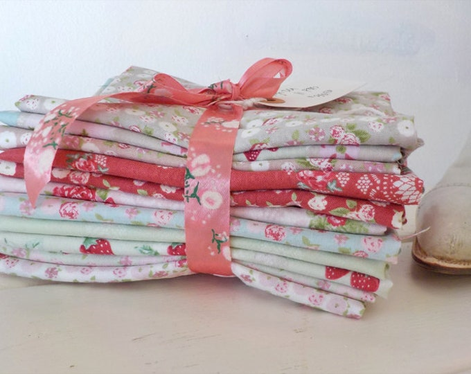 High Tea 11 FQ bundle by Quilting in the Rain for Lecien
