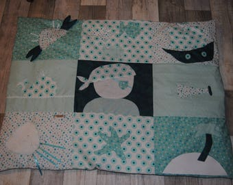 Baby play mat, pirate theme