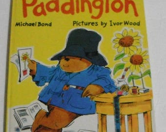 Fun and Games with Paddington Michael Bond Pictures by Ivor Wood Vintage Hardcover Book 1978