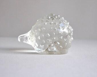 Crystal Hedgehog -  Pukeberg - Made in Sweden