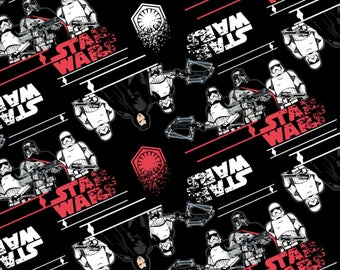 Disney Star Wars cotton fabric by Camelot fabric 7360402