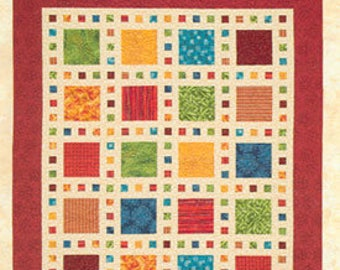 Slide Show quilt pattern by Atkinson Design
