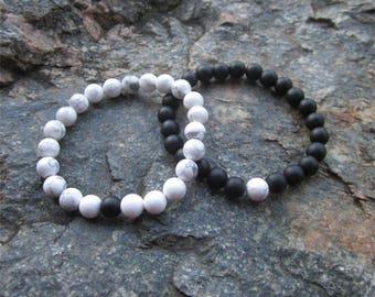 Long Distance Relationship Bracelet, Distance Bracelets, Distance Bracelet, Matching Couple Bracelets Set, Boyfriend Girlfriend Jewelry