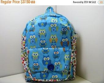 SALE Little Hoots Preschool Backpack