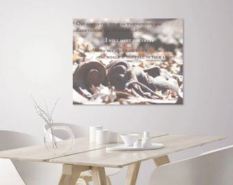 Rumi Quote Art | Nature photography | Zen Decor, Zen Wall Art | Rustic Home Decor | Inspirational Quote Prints | Inspirational Wall Art