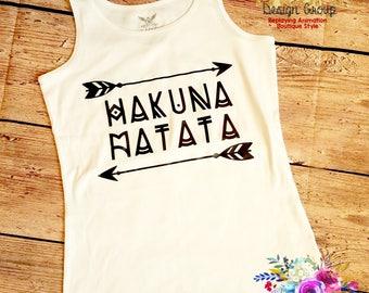 Hakuna Matata Lion King Disney Cruise Shirt Mama Tank Top Mom Shirt