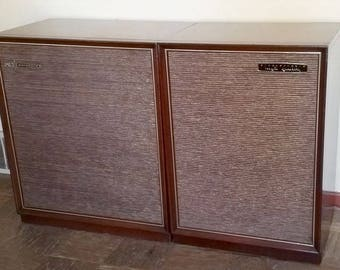 Mid-Century Modern Motorola SK14W Solid State Tube Stereo Console w/ Turntable