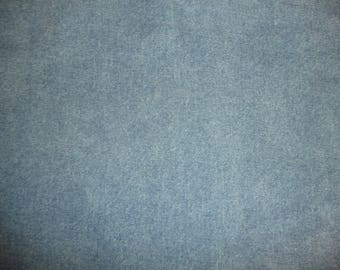 """Leather 24""""x24"""" Blue Jean DENIM look Cowhide 3.5 oz / 1.4 mm PeggySueAlso™ E2900-01"""