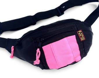 Classic 80s World Famous Neon Patch Fanny Pack - 24 to 38