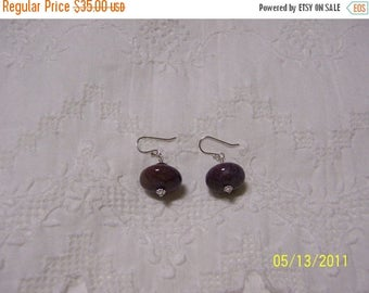 TWICE A YEAR, 25% Off Pietersite and Hematite Dangle earrings. sterling