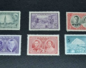 Canada 23 mint stamps 1939-1942