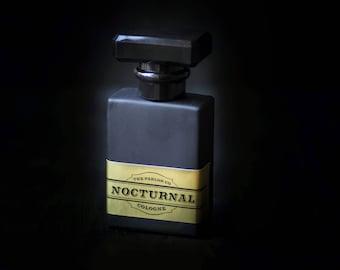 Nocturnal Mens Cologne -  Noir Collection- Black Bottle - The Parlor Co - 1 oz