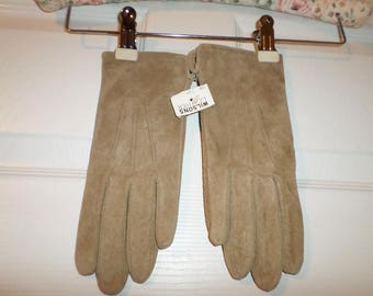 Vintage NWT Wilsons Leather Gloves Vintage  Gloves Old Stock