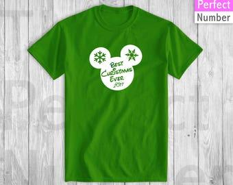 Disney Best Christmas Ever Celebration T-shirt  2017
