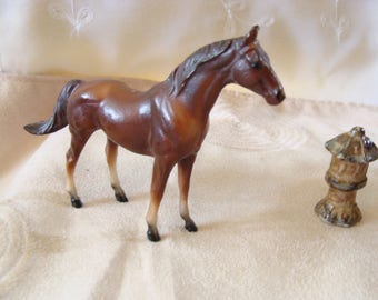 Horse Miniature by Breyer's, 1975, 4 inches x 3 inches high