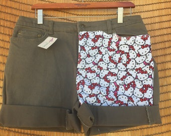 Hello Kitty Handcrafted Shorts