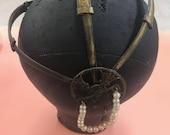 RESERVED* (Luckyzombie13) Vintage 20s Antique 1920s Flapper Headpiece Headband