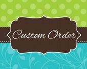 Custom Listing for Veronica Moreno